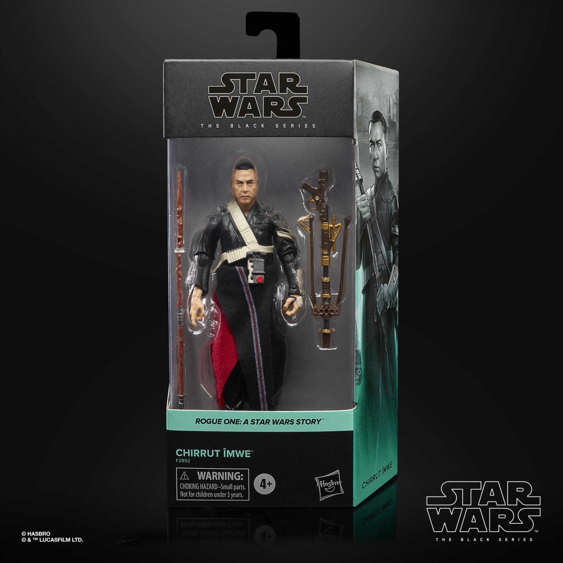 Star wars the black series chirrut imwe 15cm
