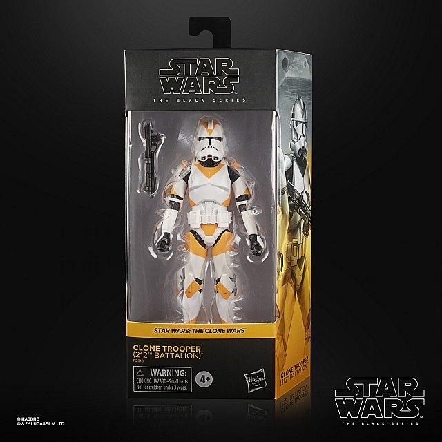 Star wars the black series clone trooper 212th battalion 15cm