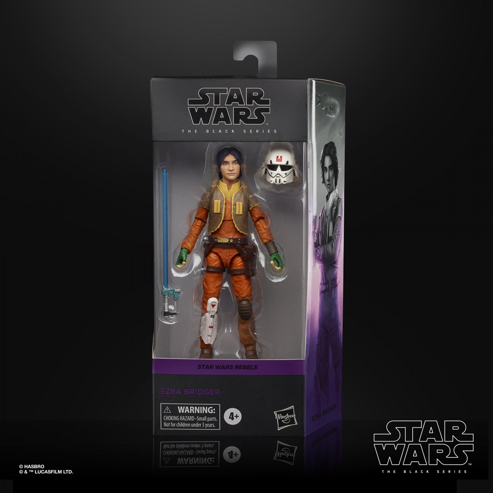 Star wars the black series ezra bridger 15cm1