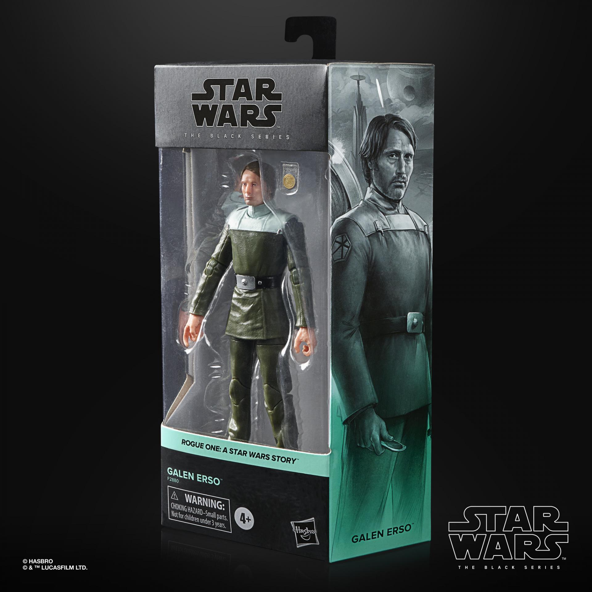 Star wars the black series galen erso 15cm1