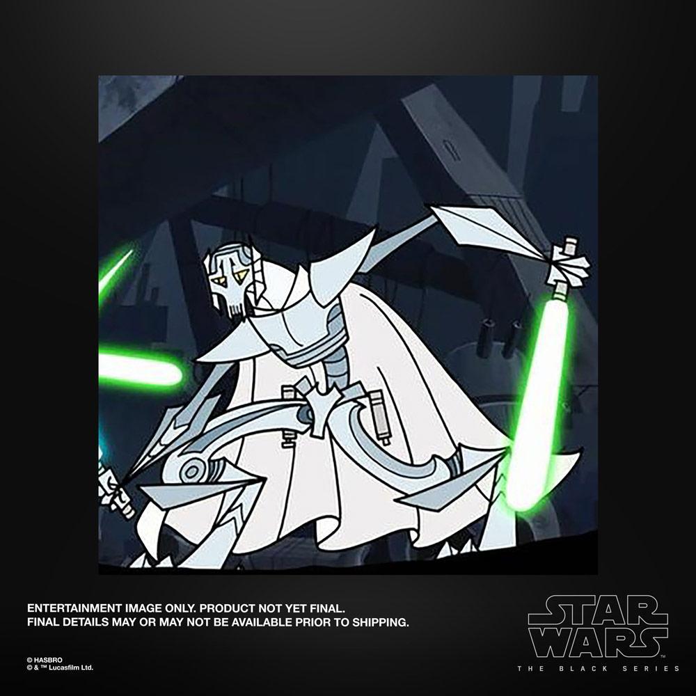 Star wars the black series general grievous 15cm