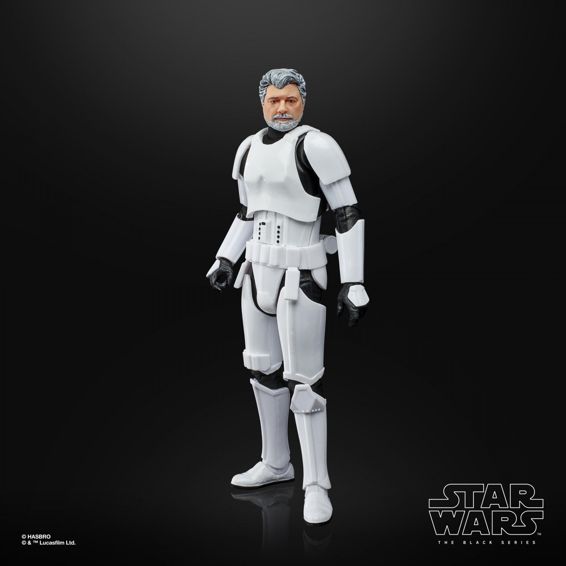 Star wars the black series george lucas in stormtrooper disguise