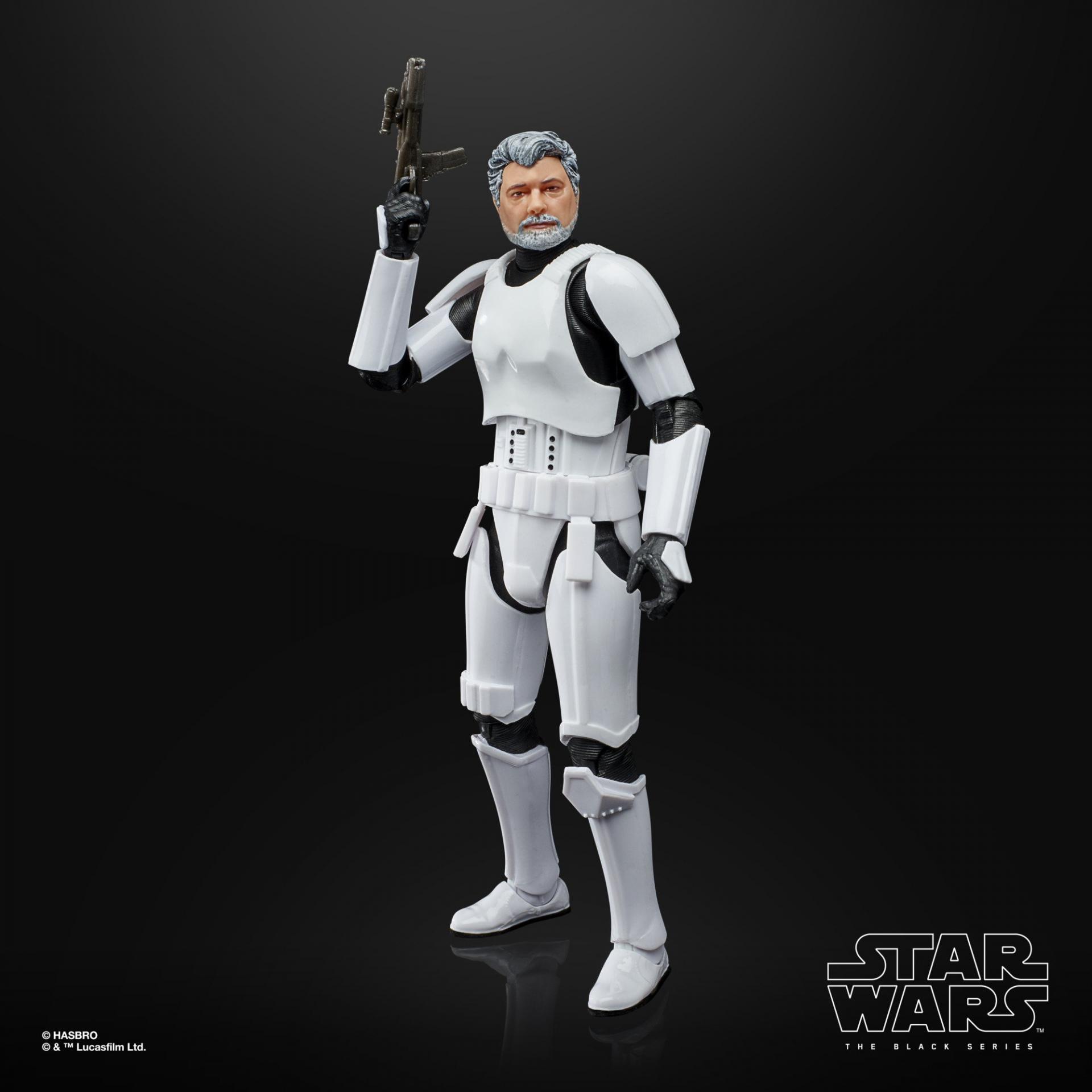 Star wars the black series george lucas in stormtrooper disguise 1