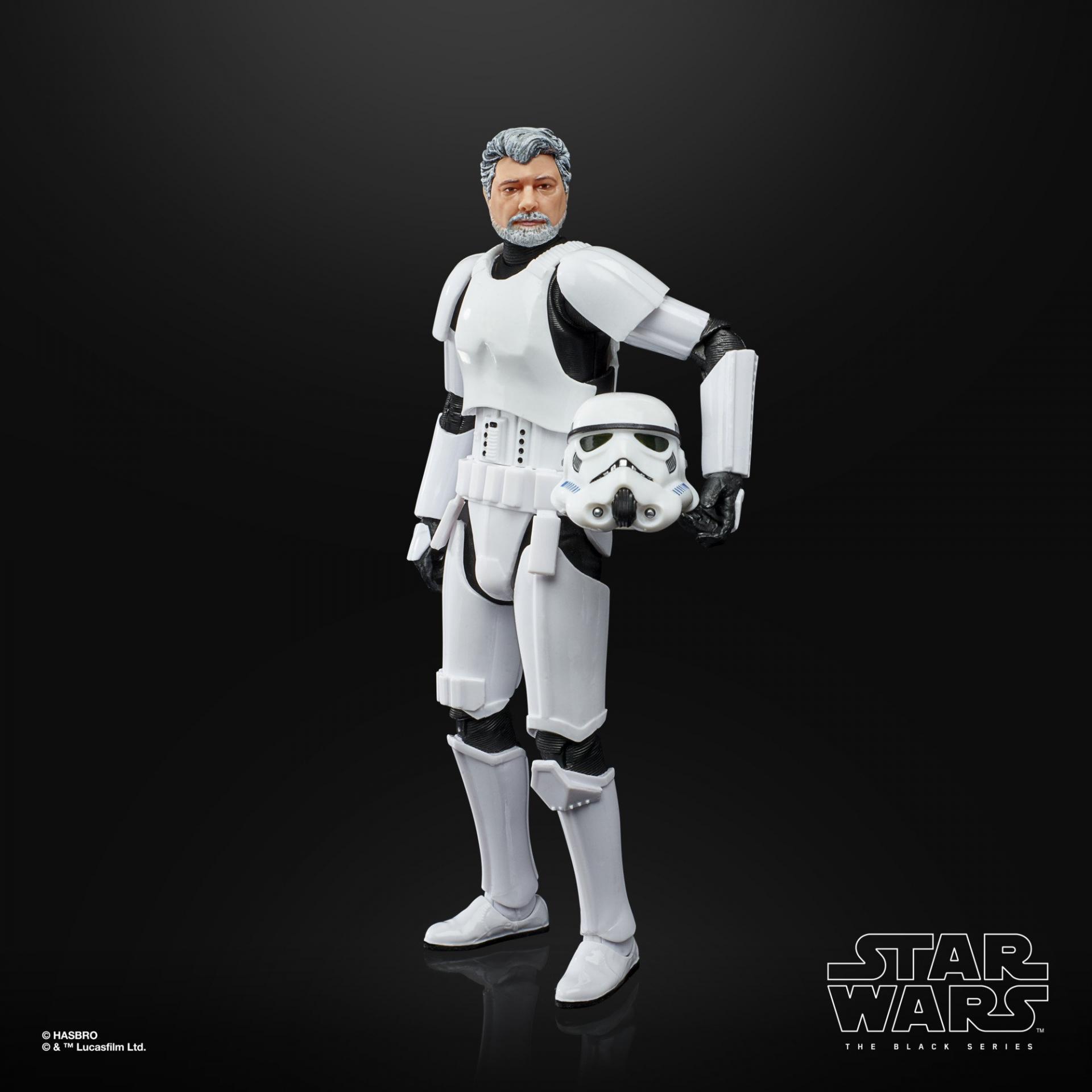 Star wars the black series george lucas in stormtrooper disguise 3