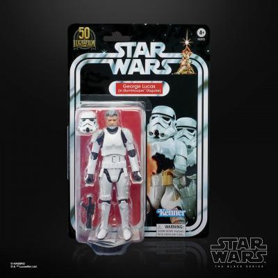 STAR WARS - THE BLACK SERIES - George Lucas (In Stormtrooper Disguise)