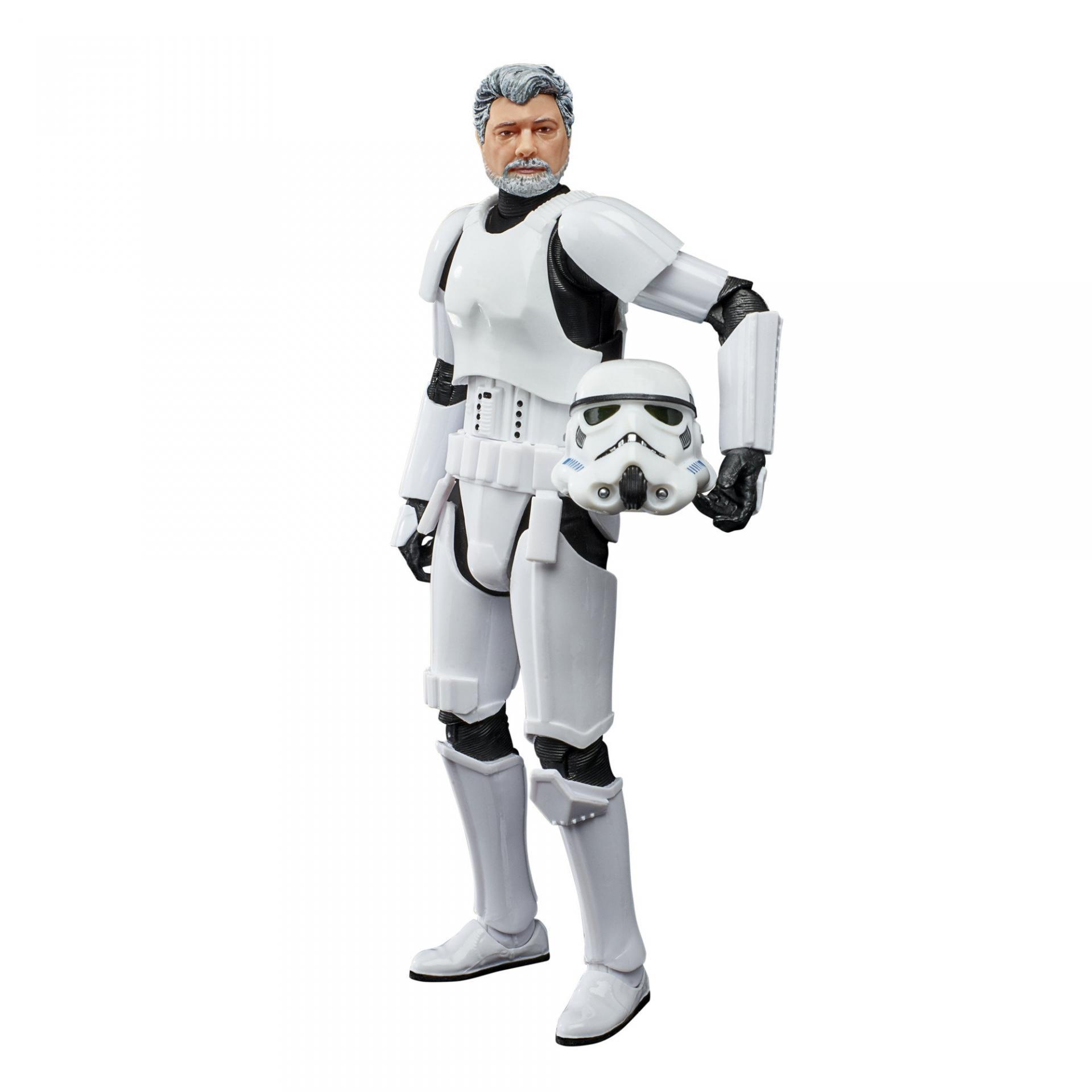 Star wars the black series george lucas in stormtrooper disguise 6