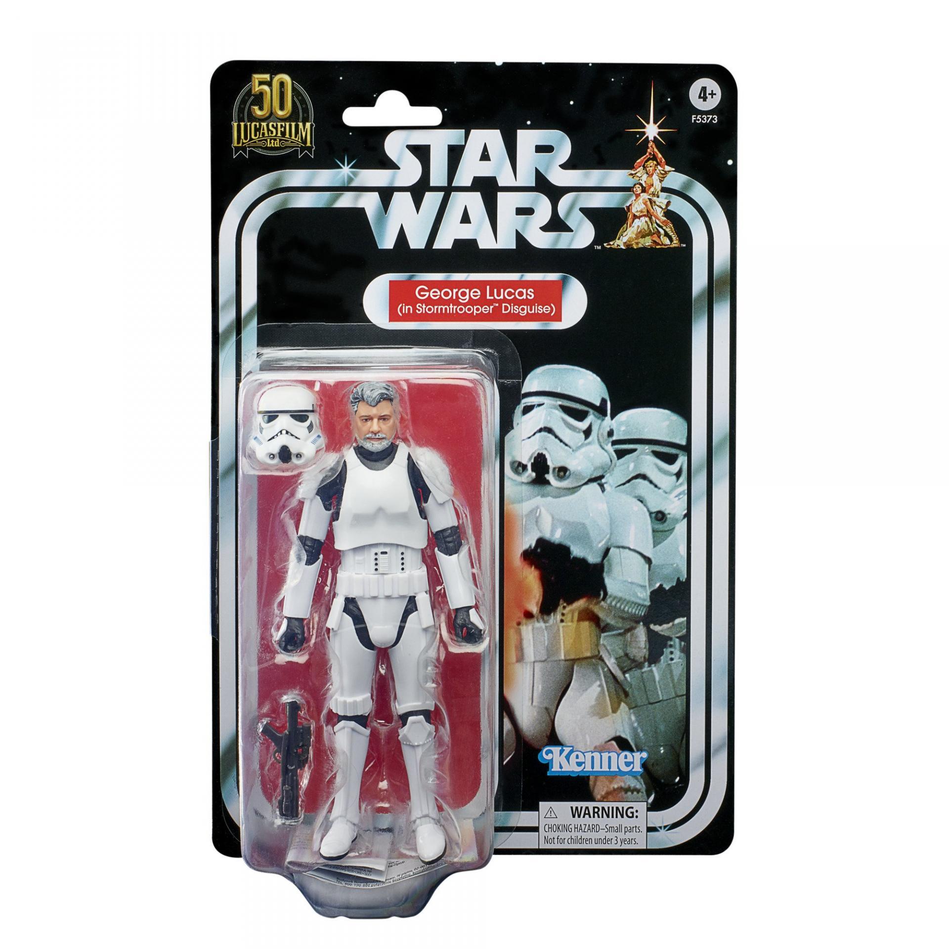 Star wars the black series george lucas in stormtrooper disguise 7