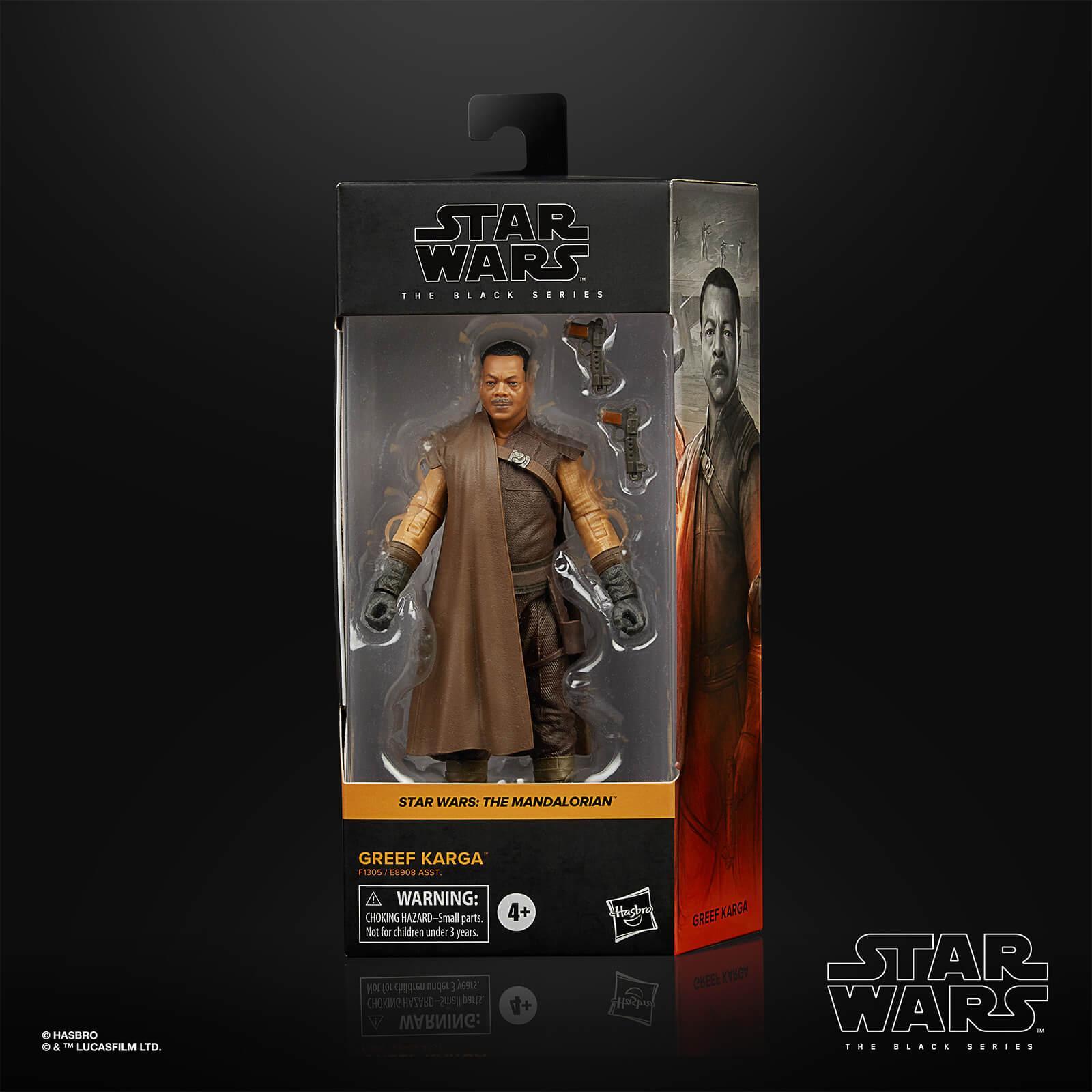 Star wars the black series greef karga15cm