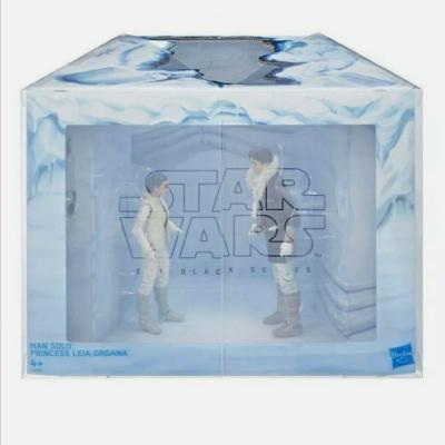STAR WARS - THE BLACK SERIES - Han Solo and Princesss Leia Organa Hascon Exclusive 6