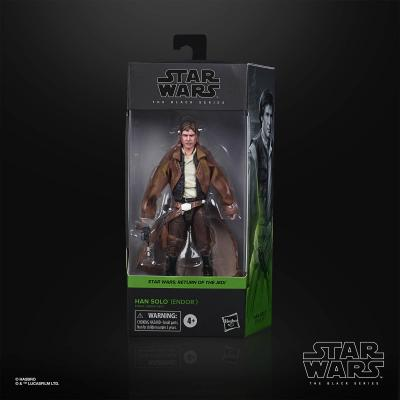 STAR WARS - THE BLACK SERIES - Han Solo Endor 6