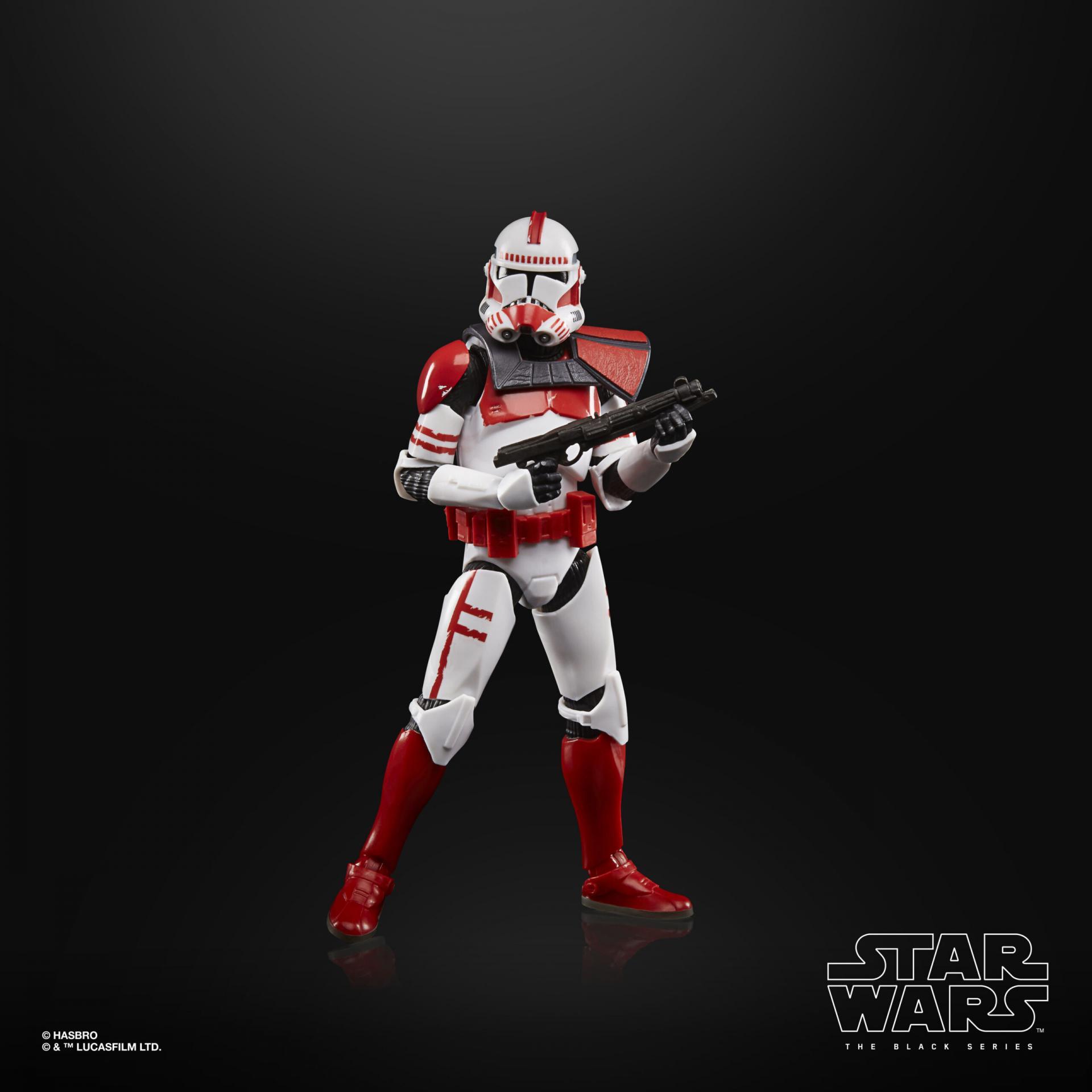 Star wars the black series imperial clone shock trooper 15cm