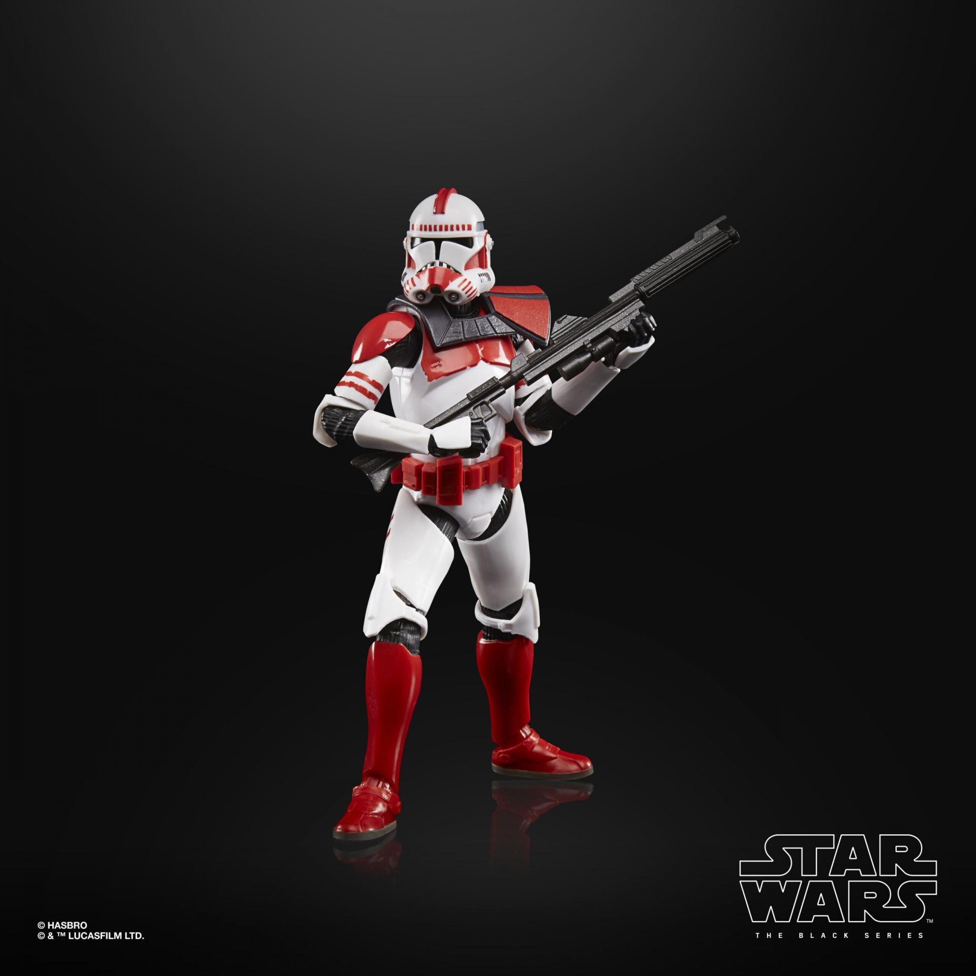 Star wars the black series imperial clone shock trooper 15cm3