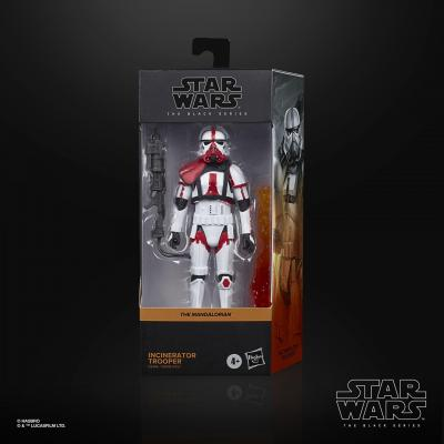Star wars the black series incinerator trooper 15cm