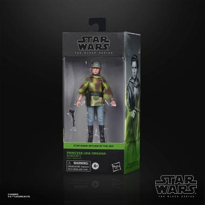 STAR WARS - THE BLACK SERIES - Leia Organa (Endor)