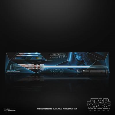Star wars the black series leia organa force fx elite lightsaber