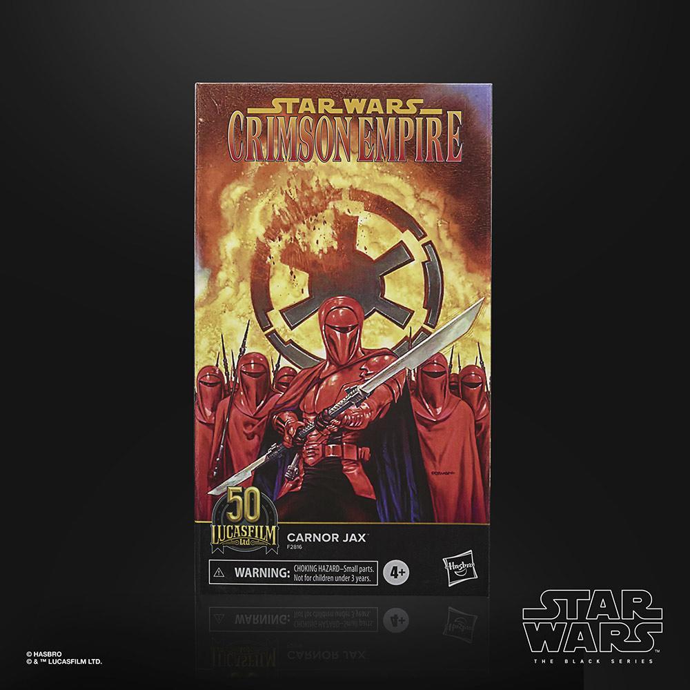 Star wars the black series lucasfilm 50th anniversary carnor jax 15cm1