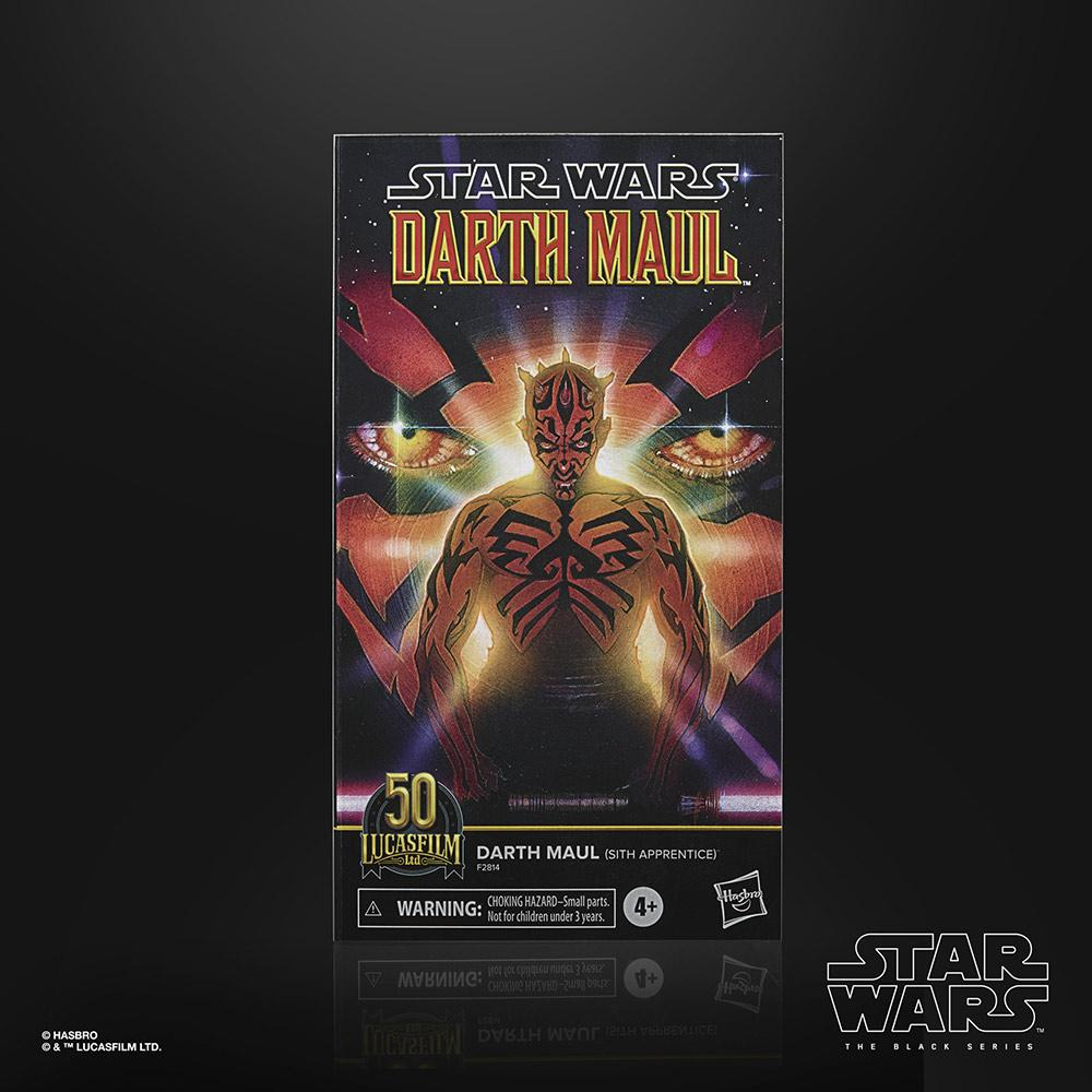 Star wars the black series lucasfilm 50th anniversary darth maul sith apprentice 15cm