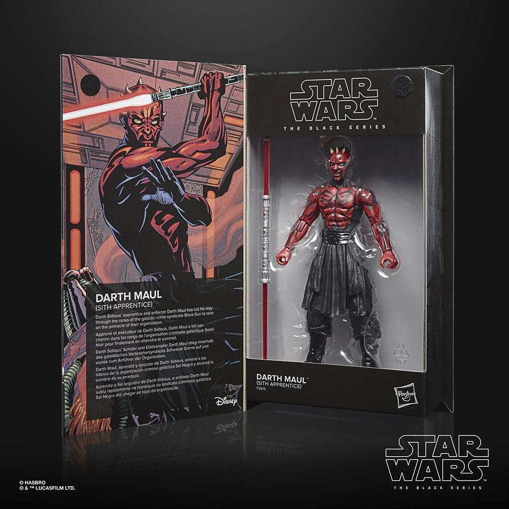 Star wars the black series lucasfilm 50th anniversary darth maul sith apprentice 15cm1