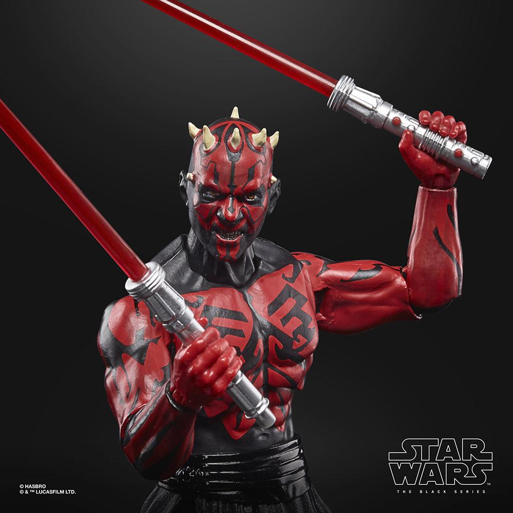 Star wars the black series lucasfilm 50th anniversary darth maul sith apprentice 15cm2