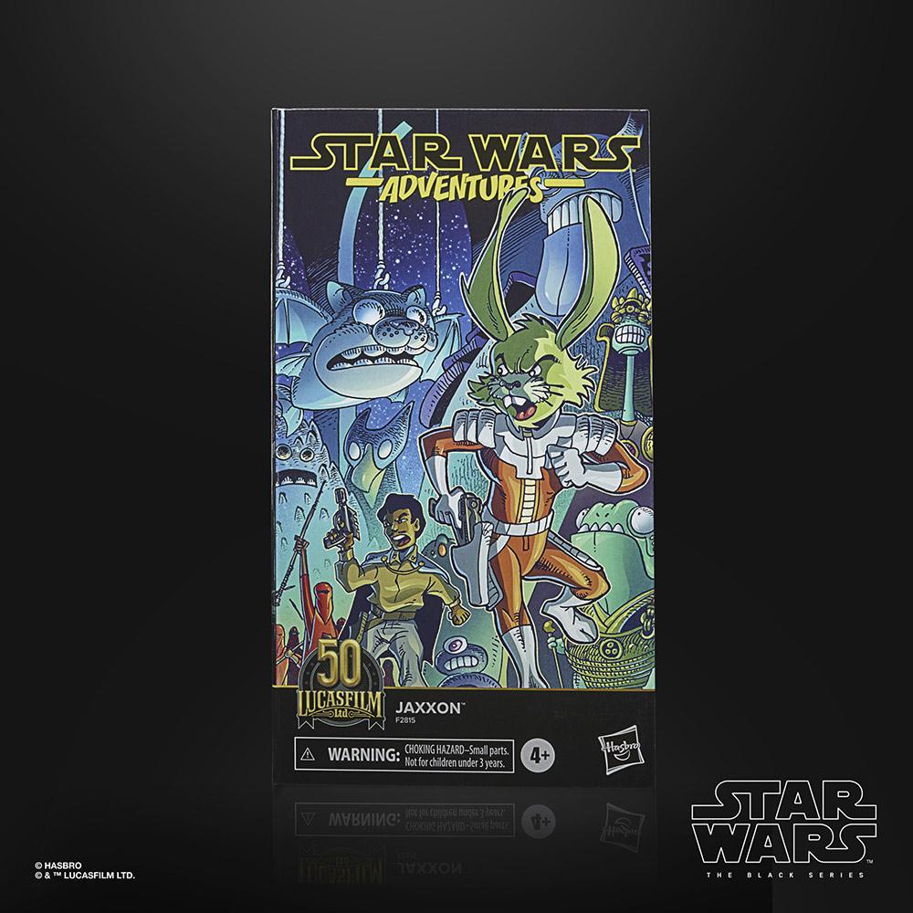 Star wars the black series lucasfilm 50th anniversary jaxxon 15cm