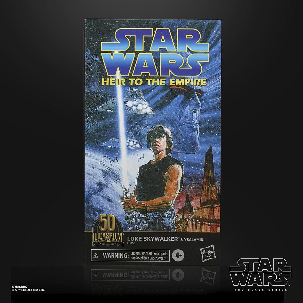 Star wars the black series lucasfilm 50th anniversary luke skywalker ysalamiri 15cm