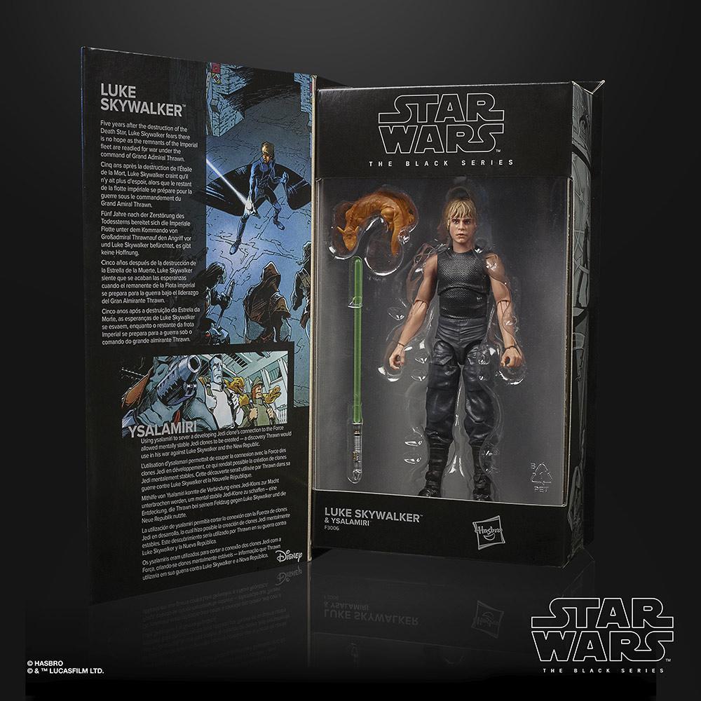 Star wars the black series lucasfilm 50th anniversary luke skywalker ysalamiri 15cm1
