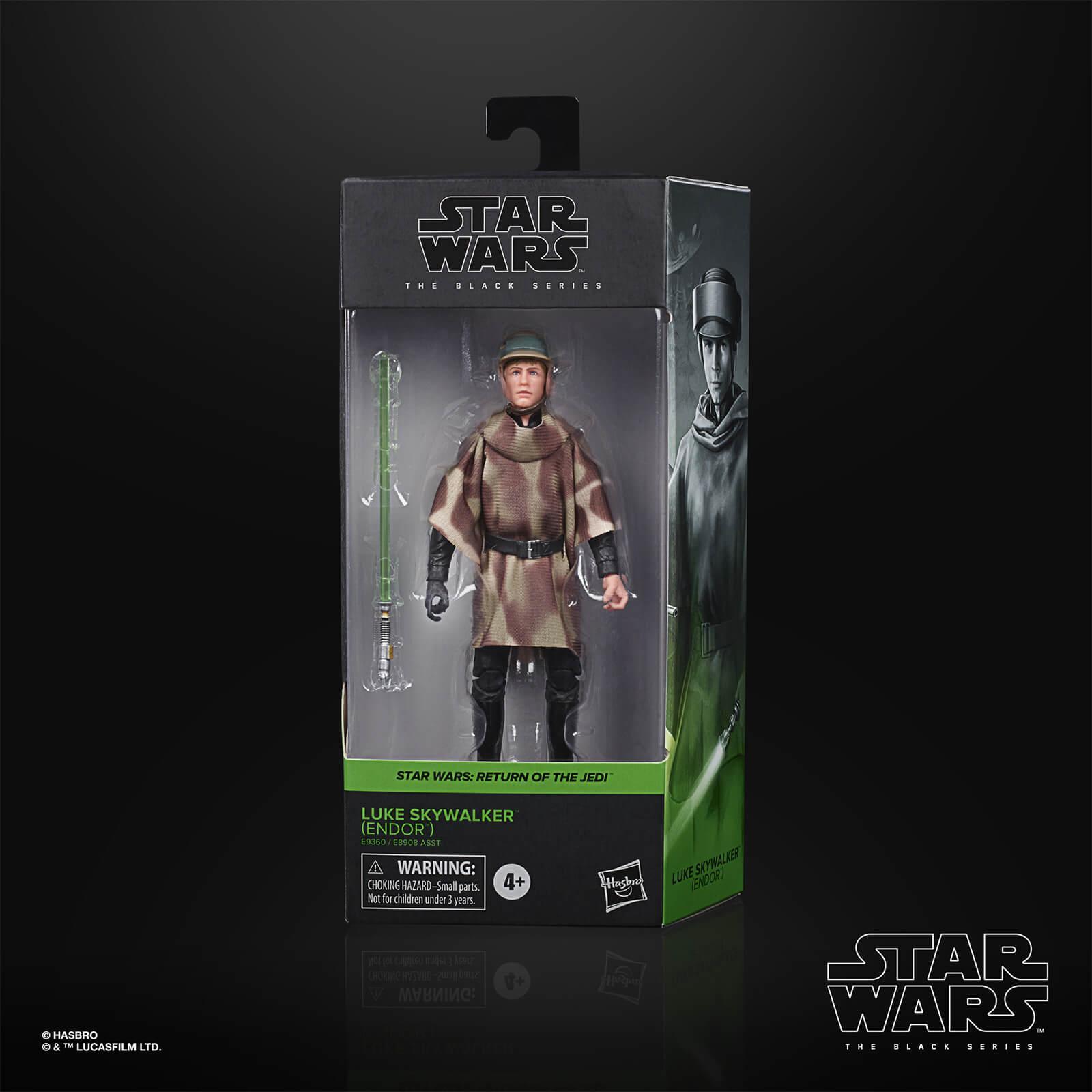 Star wars the black series luke skywalker endor 15cm
