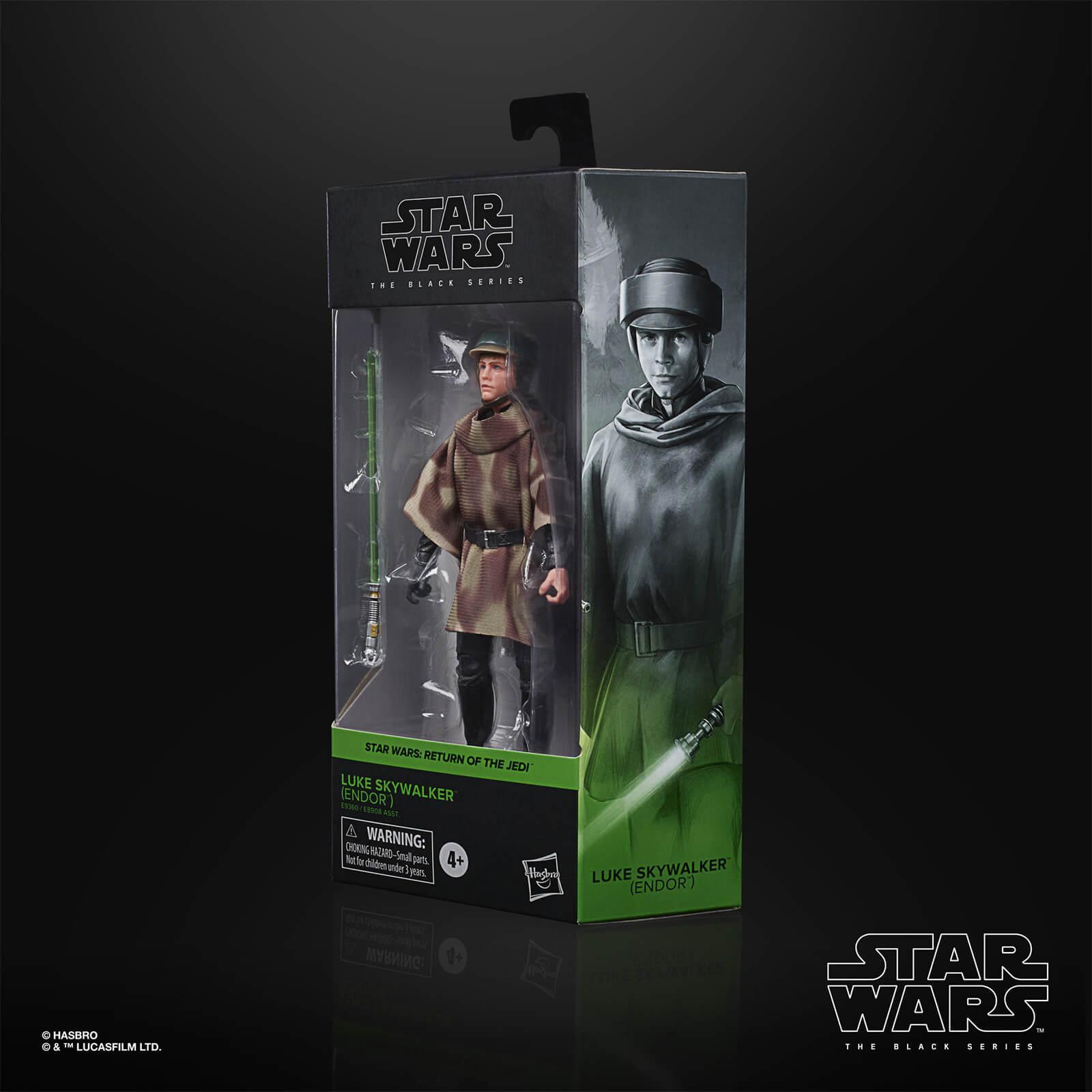 Star wars the black series luke skywalker endor 15cm1