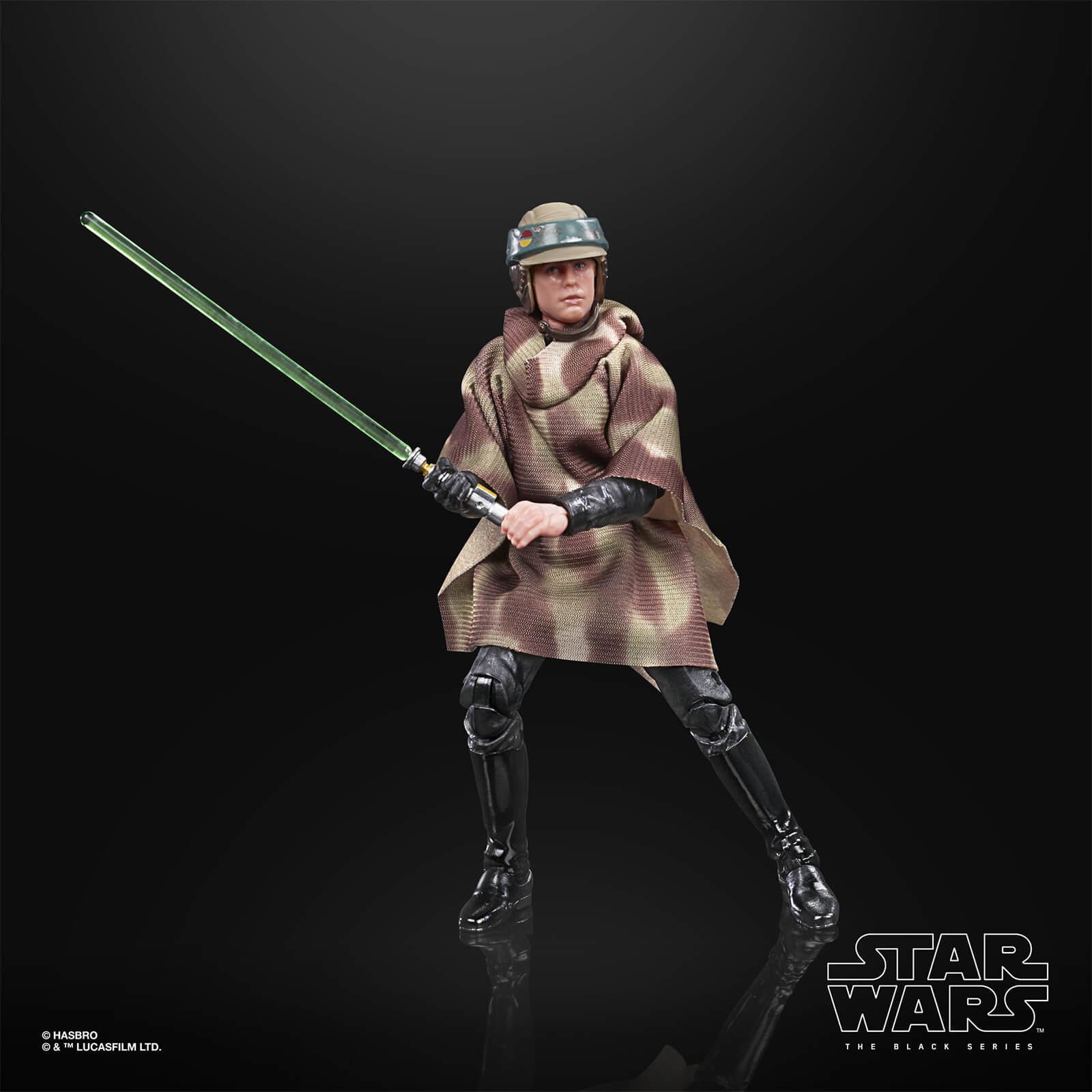 Star wars the black series luke skywalker endor 15cm2