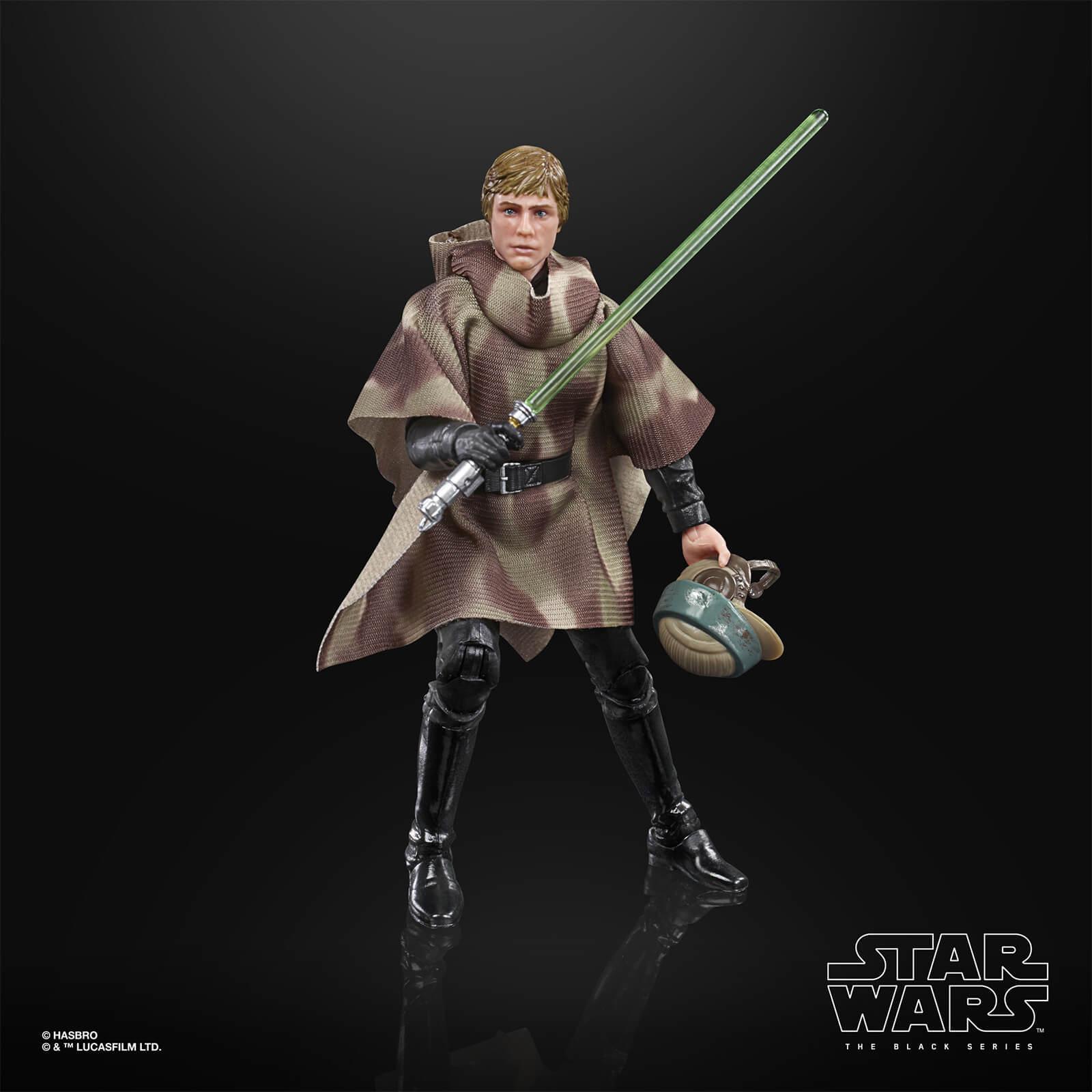Star wars the black series luke skywalker endor 15cm3