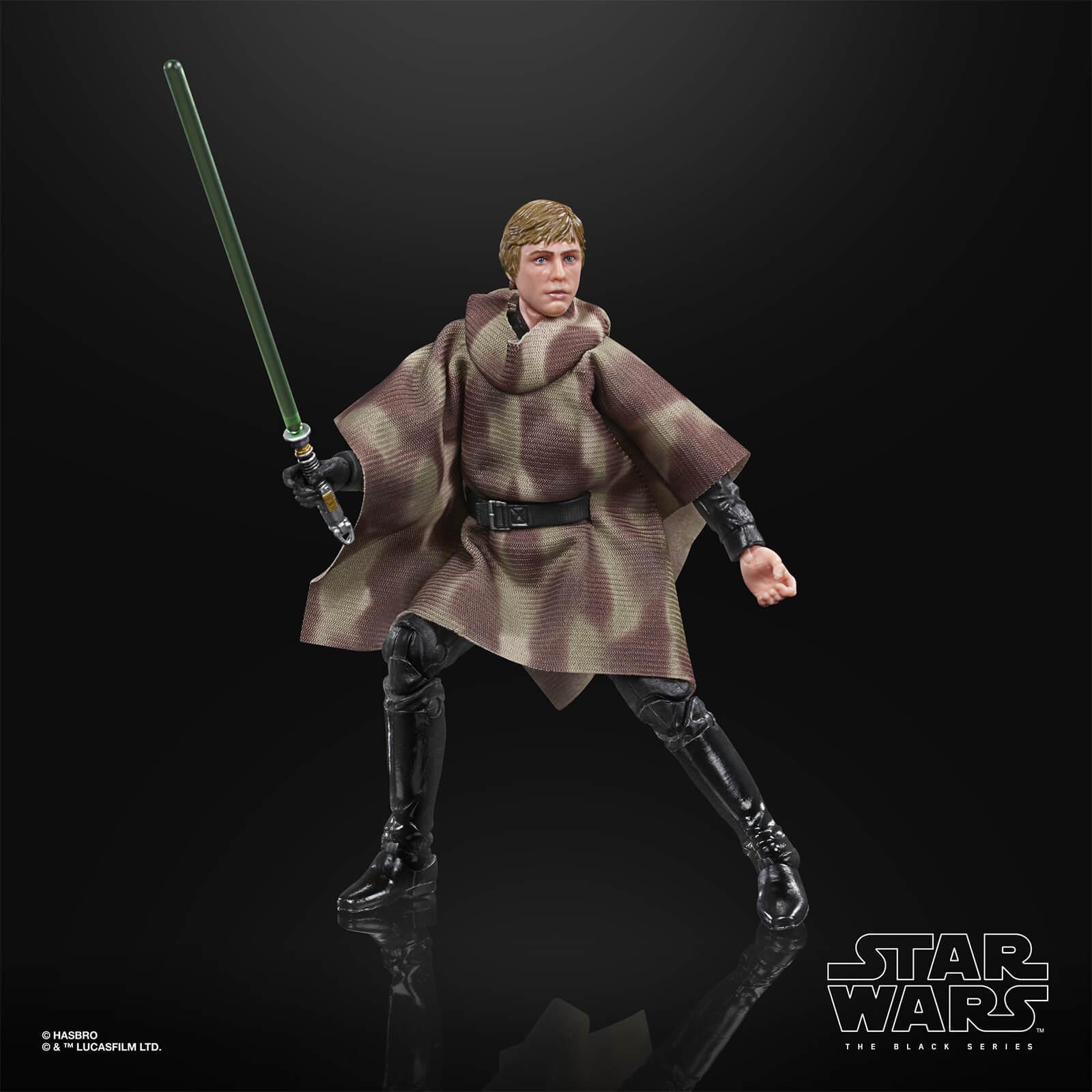 Star wars the black series luke skywalker endor 15cm4
