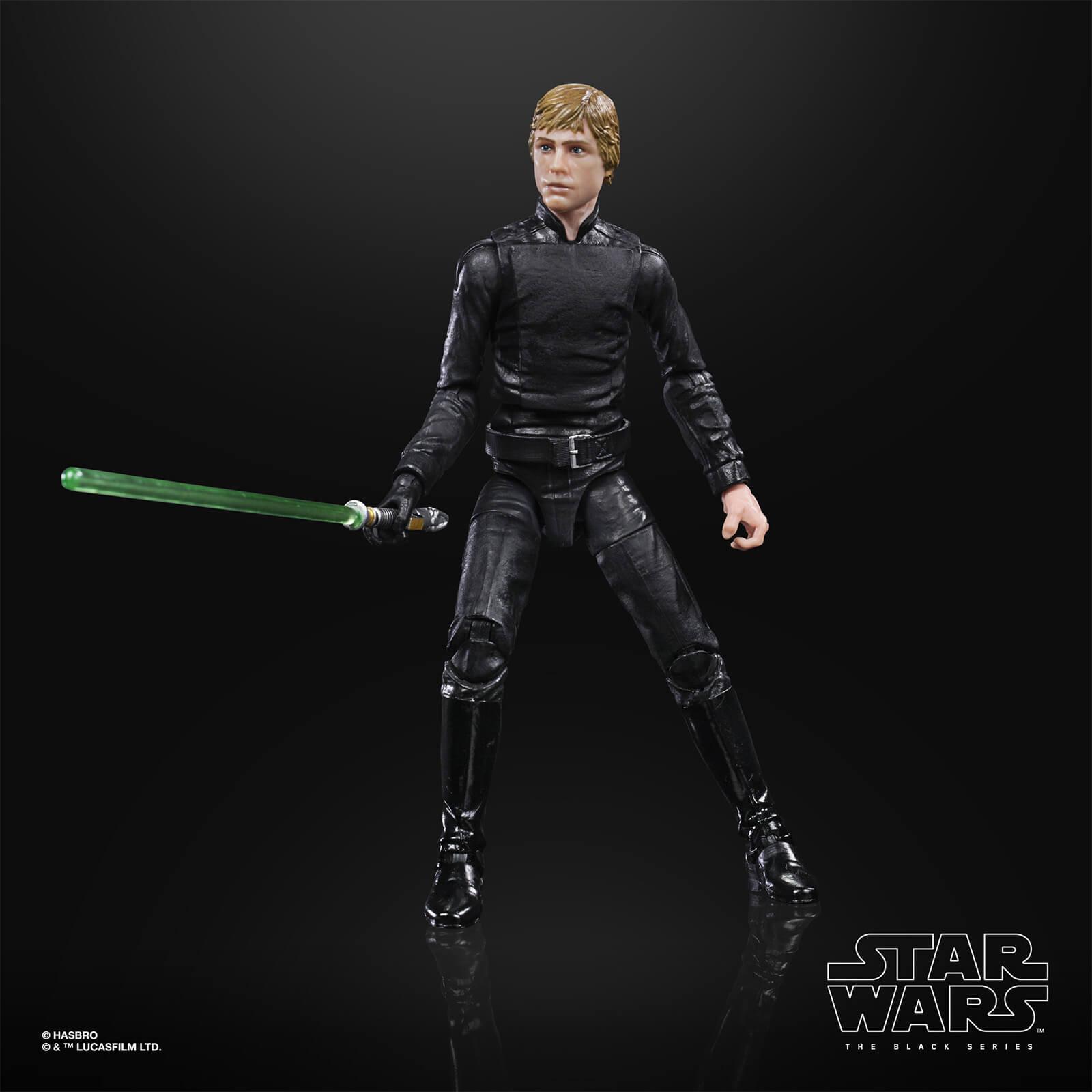 Star wars the black series luke skywalker endor 15cm5