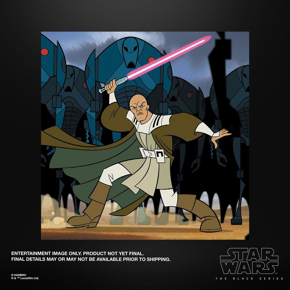 Star wars the black series mace windu 15cm 1