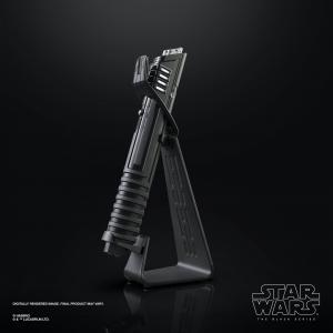 Star wars the black series mandalorian darksaber force fx elite lightsaber2