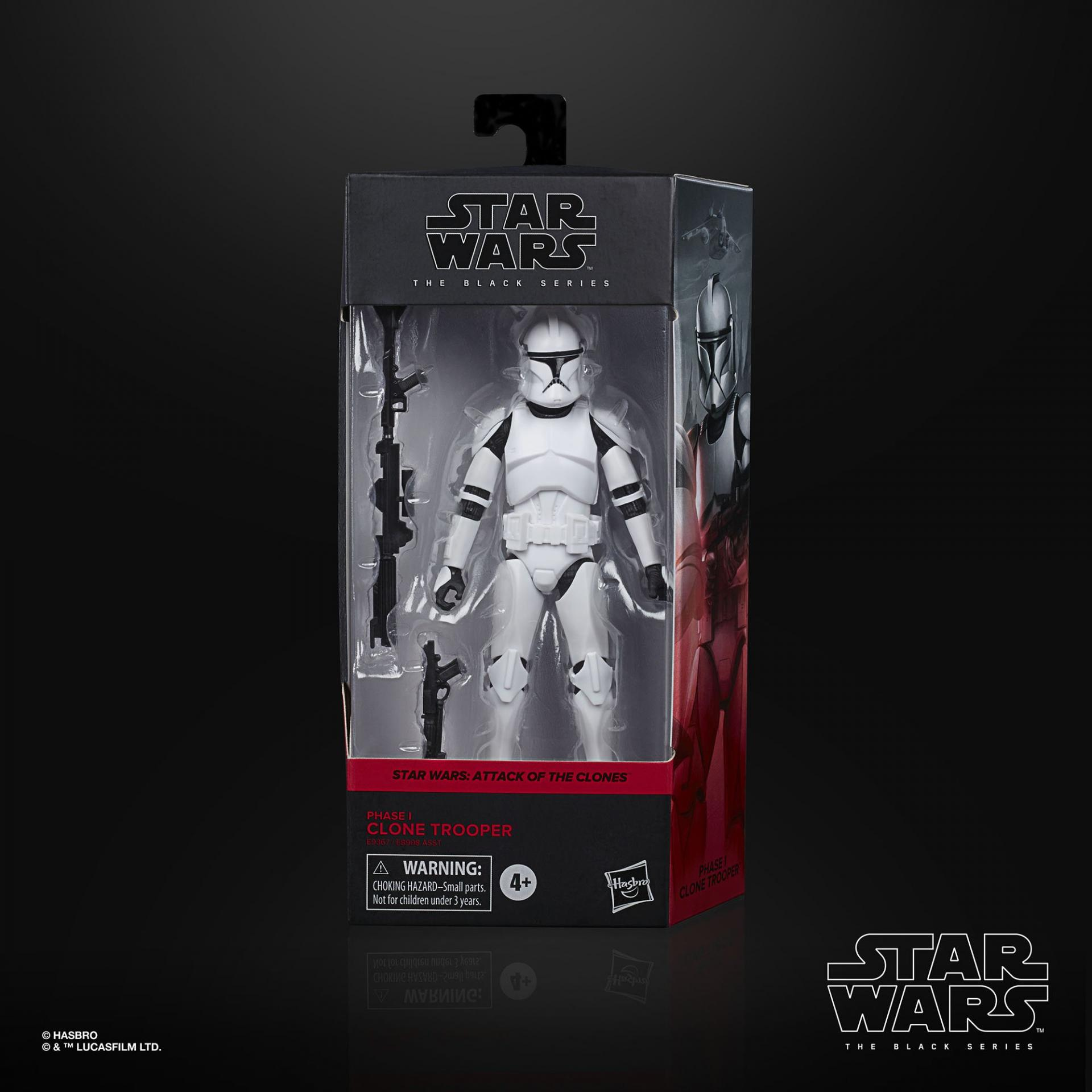 Star wars the black series phase i clone trooper 15cm