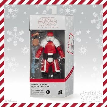 Star wars the black series range trooper holiday edition 15cm