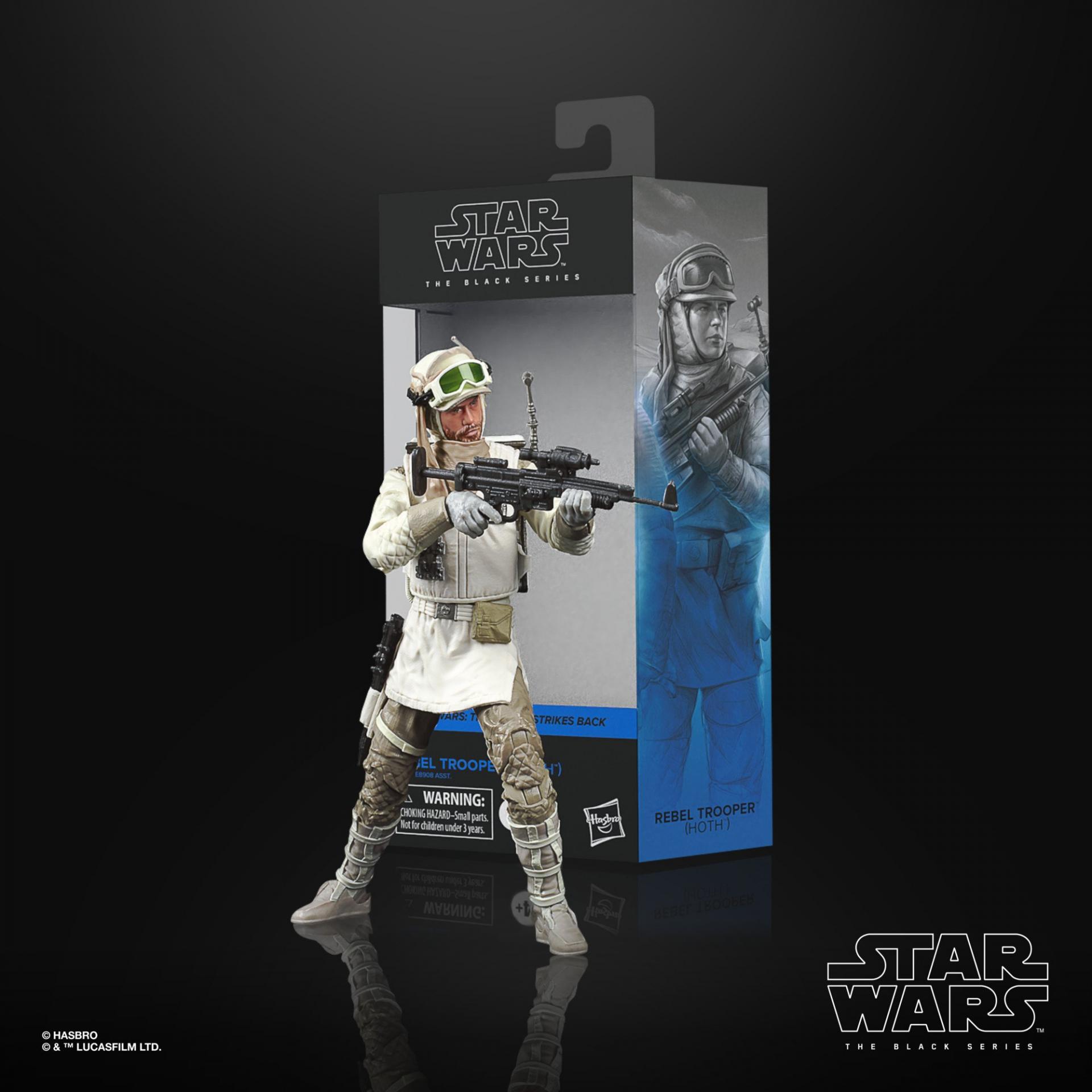 Star wars the black series rebel trooper hoth 15 cm