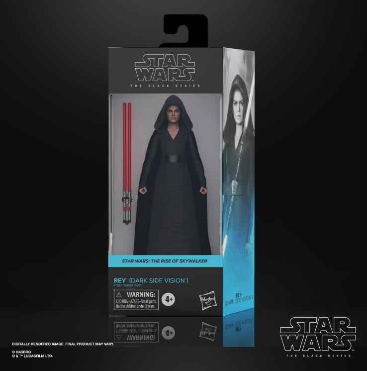 Star wars the black series rey dark side vision 15cm