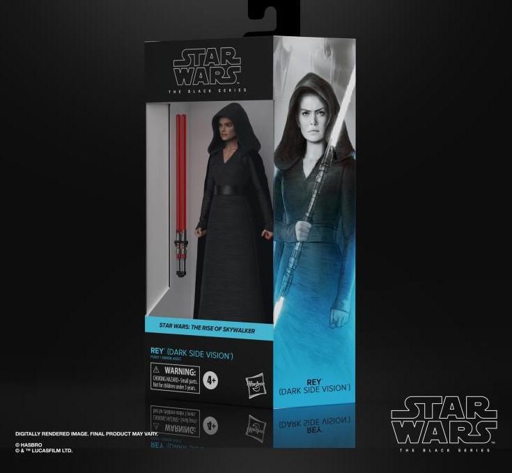 Star wars the black series rey dark side vision 15cm1