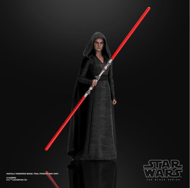 Star wars the black series rey dark side vision 15cm2
