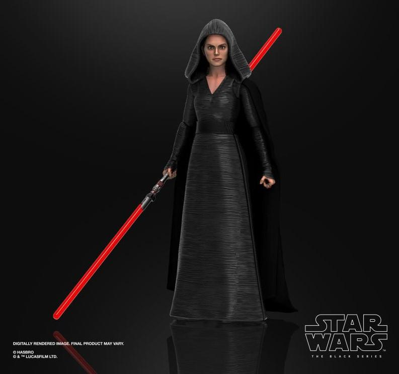 Star wars the black series rey dark side vision 15cm3