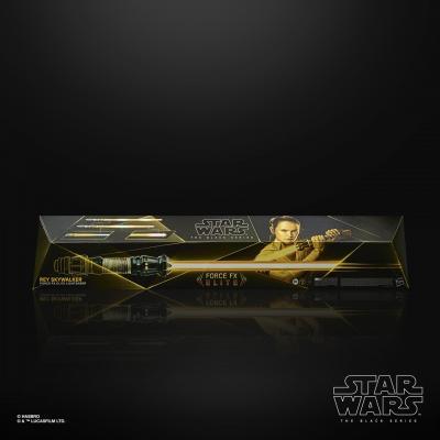 STAR WARS - THE BLACK SERIES - Rey Skywalker Force FX Elite Lightsaber