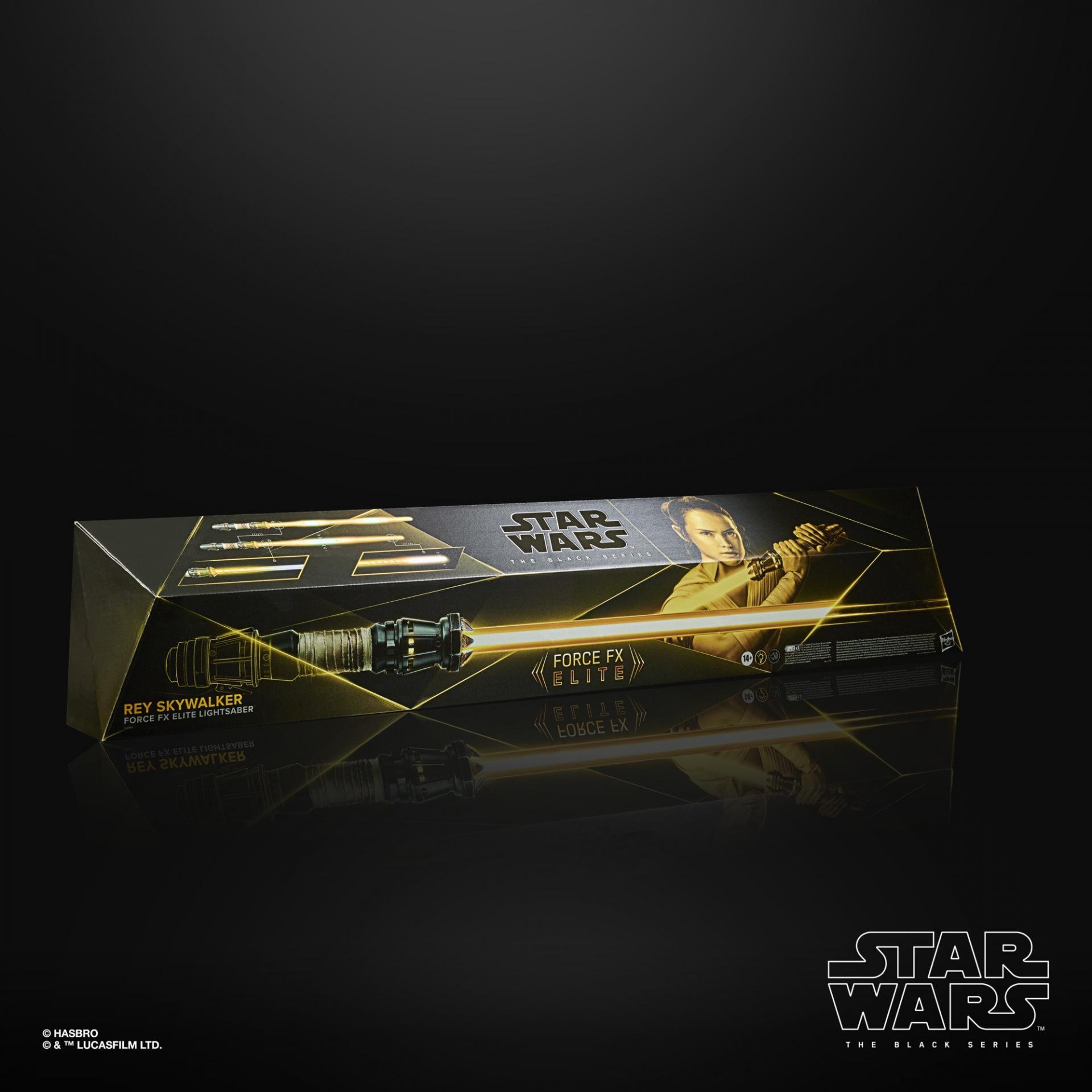 Star wars the black series rey skywalker force fx elite lightsaber1