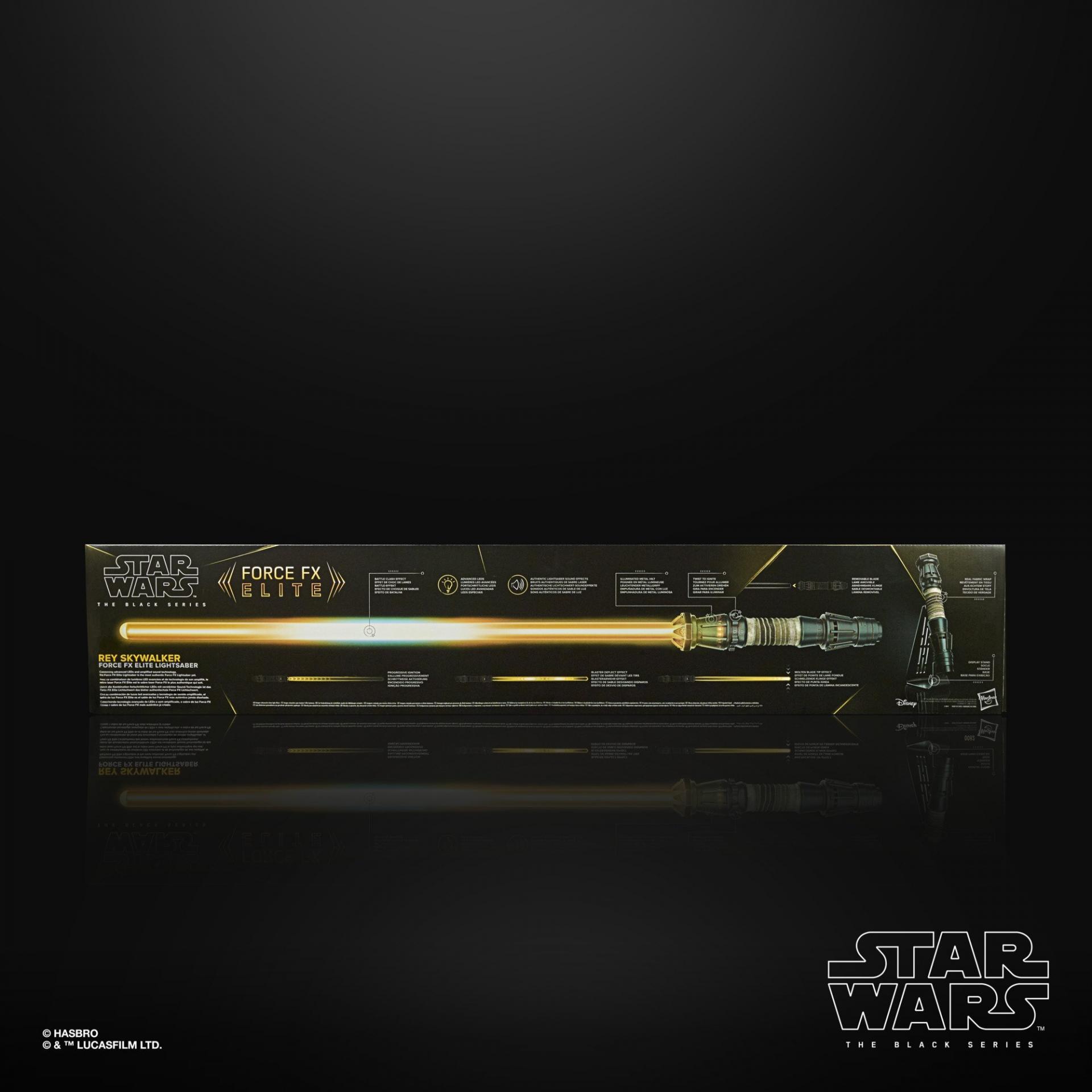 Star wars the black series rey skywalker force fx elite lightsaber3