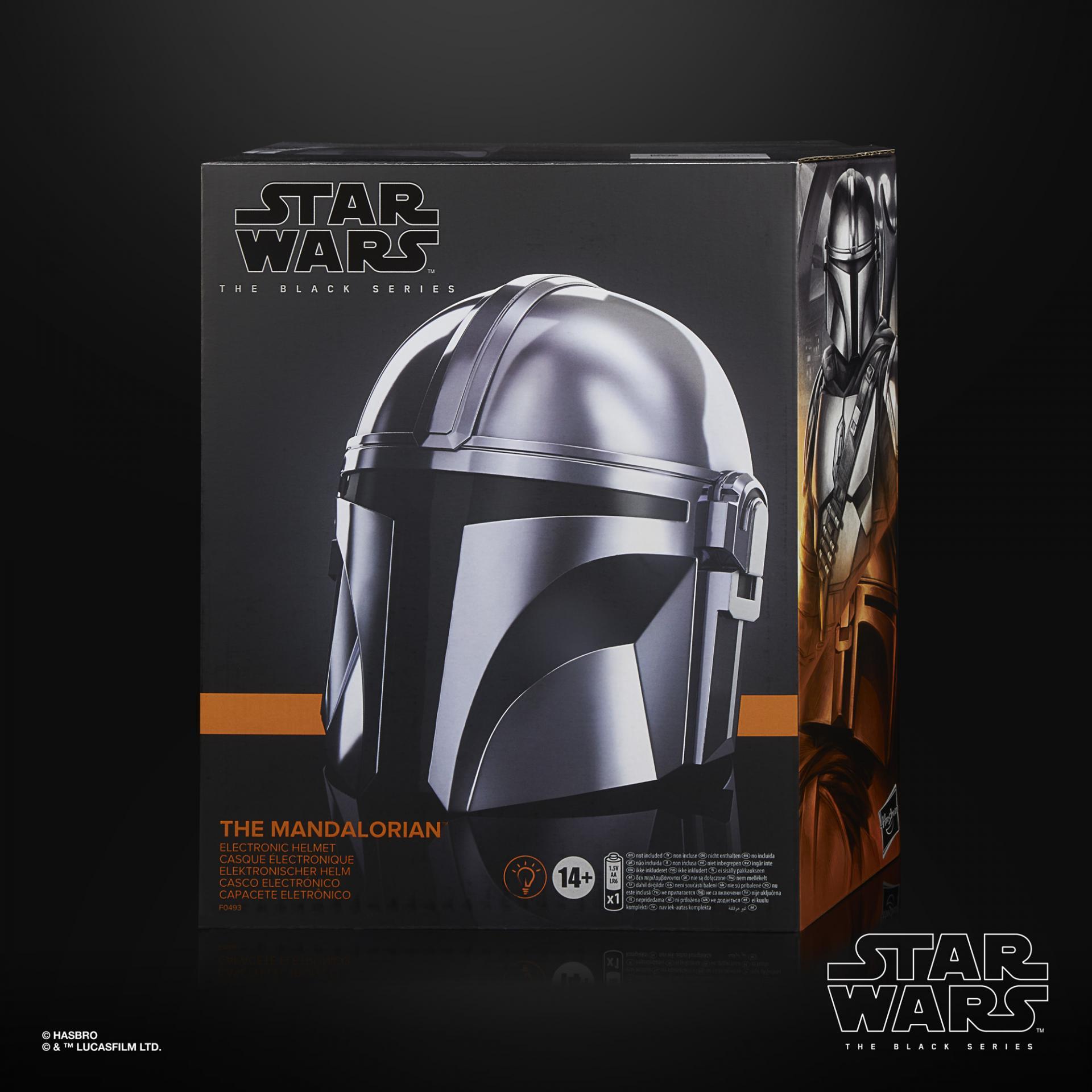 Star wars the black series the mandalorian electronic