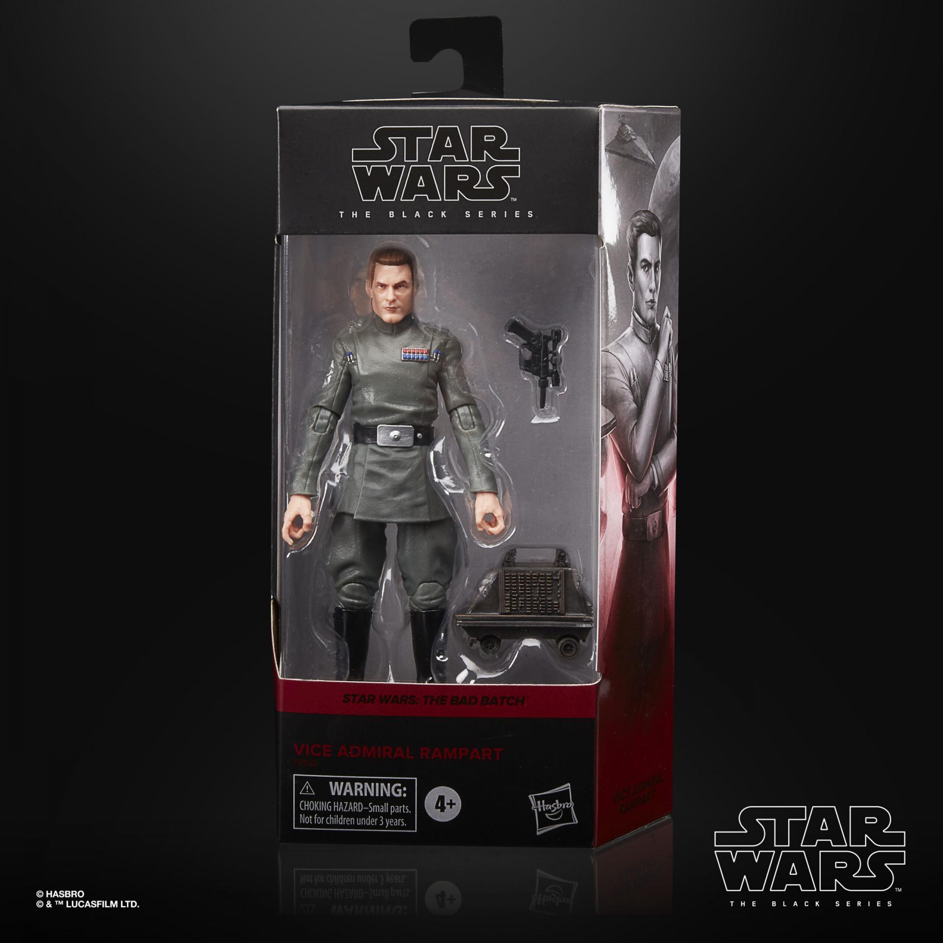 Star wars the black series vice admiral rampart 15cm
