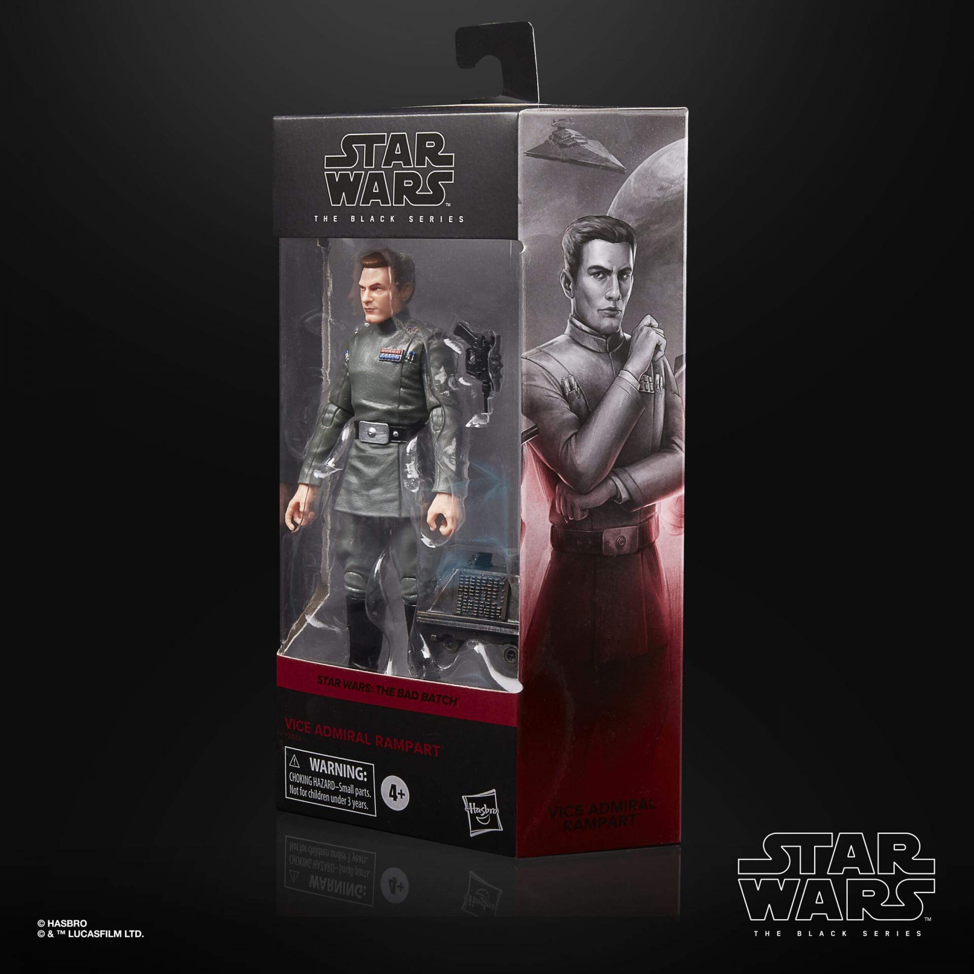 Star wars the black series vice admiral rampart 15cm1