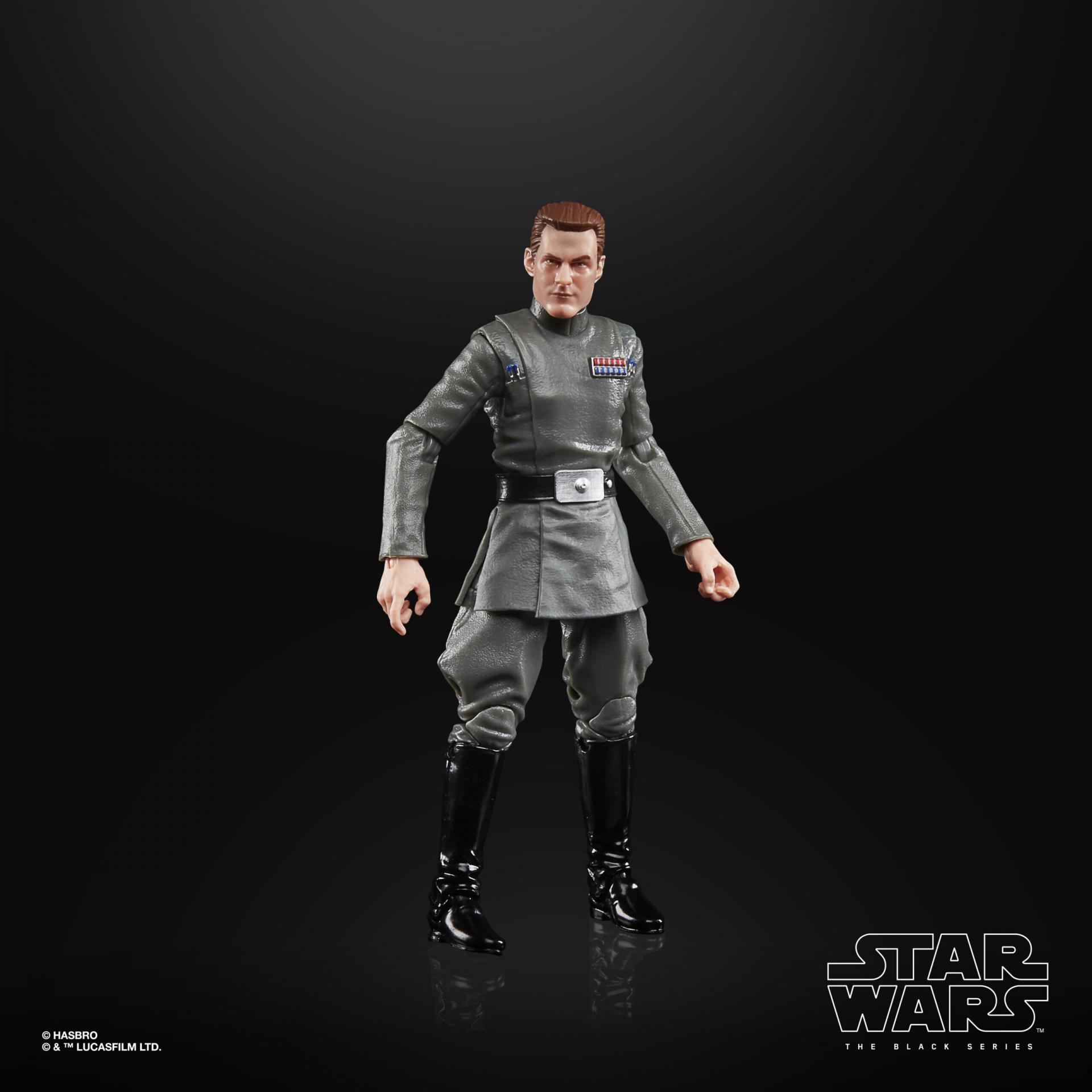 Star wars the black series vice admiral rampart 15cm3