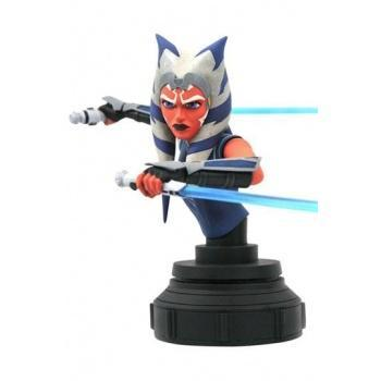 Star Wars The Clone Wars - Diamond Select Toys - Ahsoka Tano 1/7 Buste