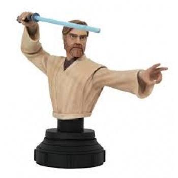 Star Wars The Clone Wars - Diamond Select Toys - Obi Wan 1/7 Buste
